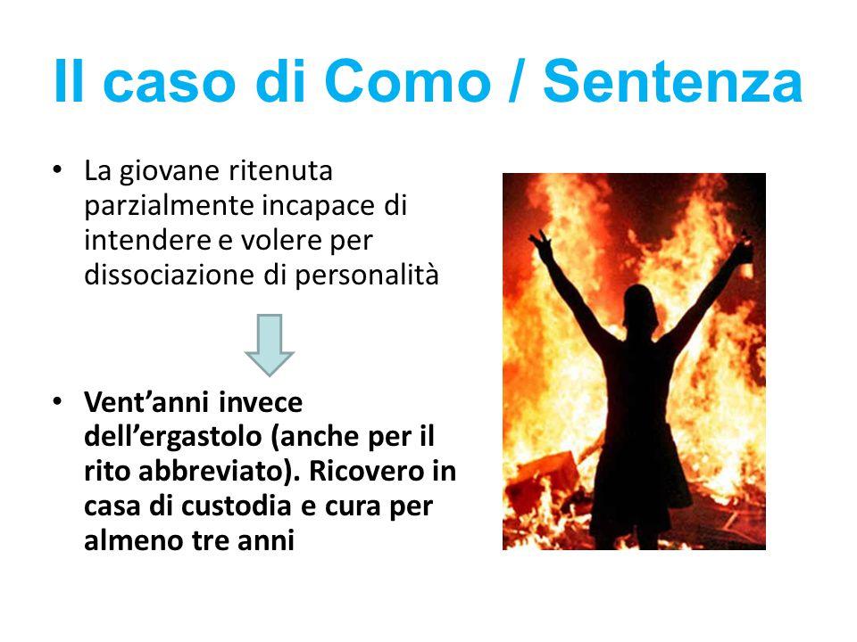 Il caso di Como / Sentenza