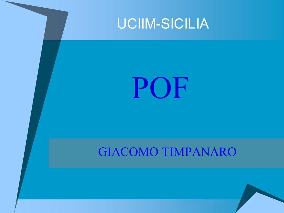 UCIIM-SICILIA POF GIACOMO TIMPANARO