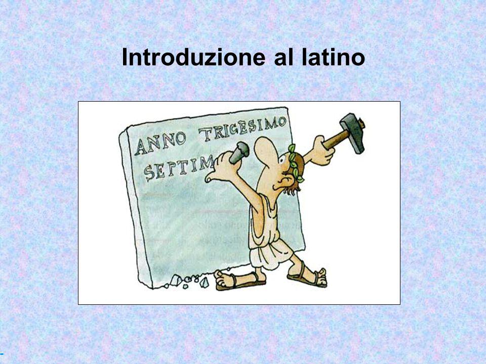Introduzione al latino