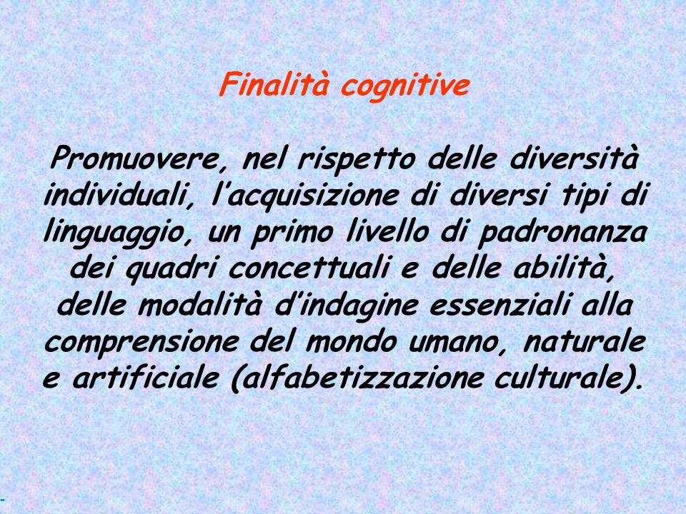 Finalità cognitive