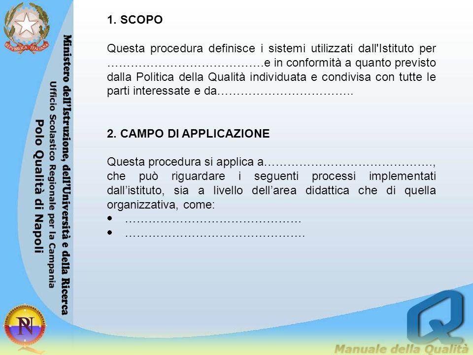 1. SCOPO
