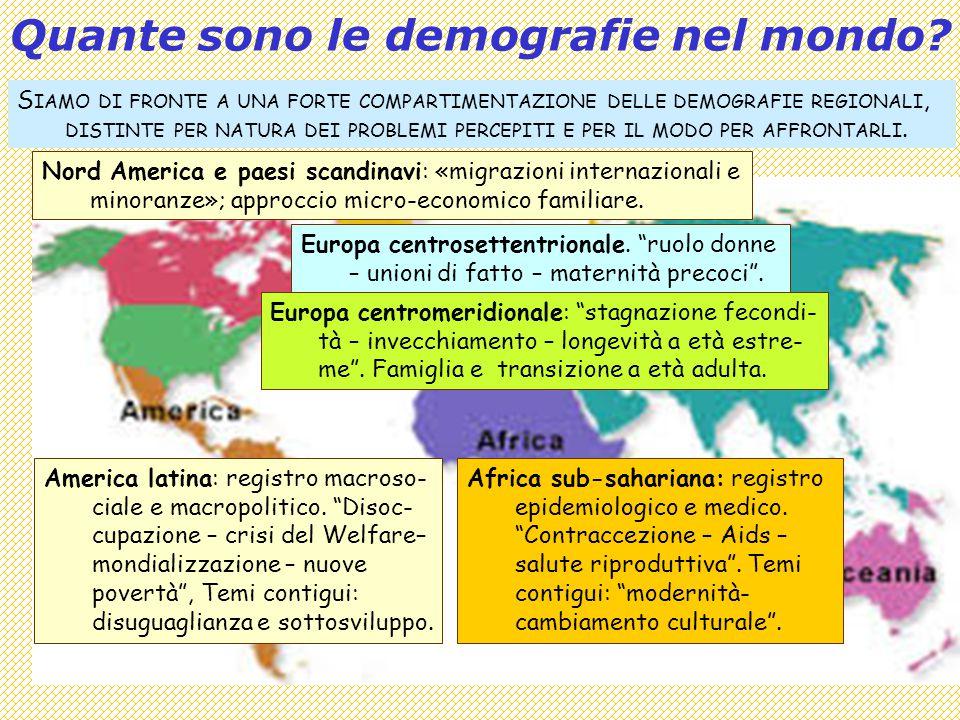 Quante sono le demografie nel mondo