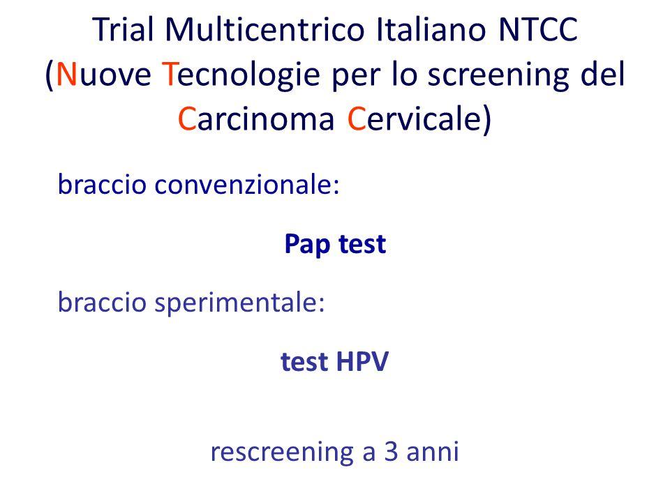 Trial Multicentrico Italiano NTCC (Nuove Tecnologie per lo screening del Carcinoma Cervicale)