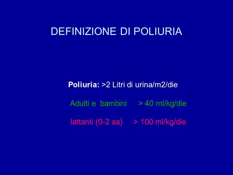DEFINIZIONE DI POLIURIA