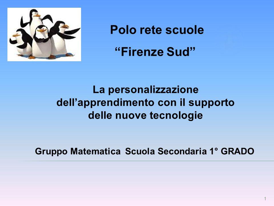 Gruppo Matematica Scuola Secondaria 1° GRADO