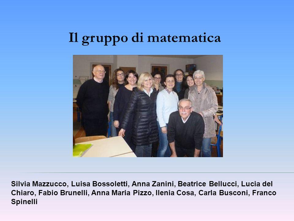 Il gruppo di matematica