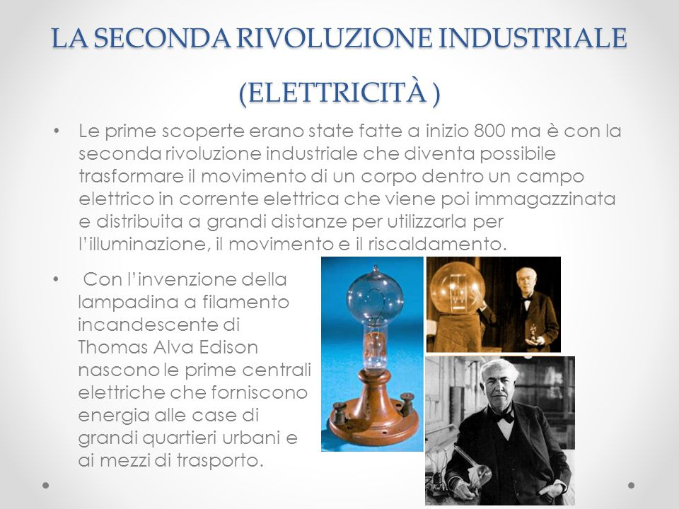 La seconda rivoluzione industriale ppt video online for Look industriale per case