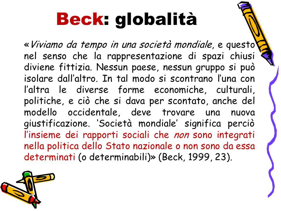 Beck: globalità