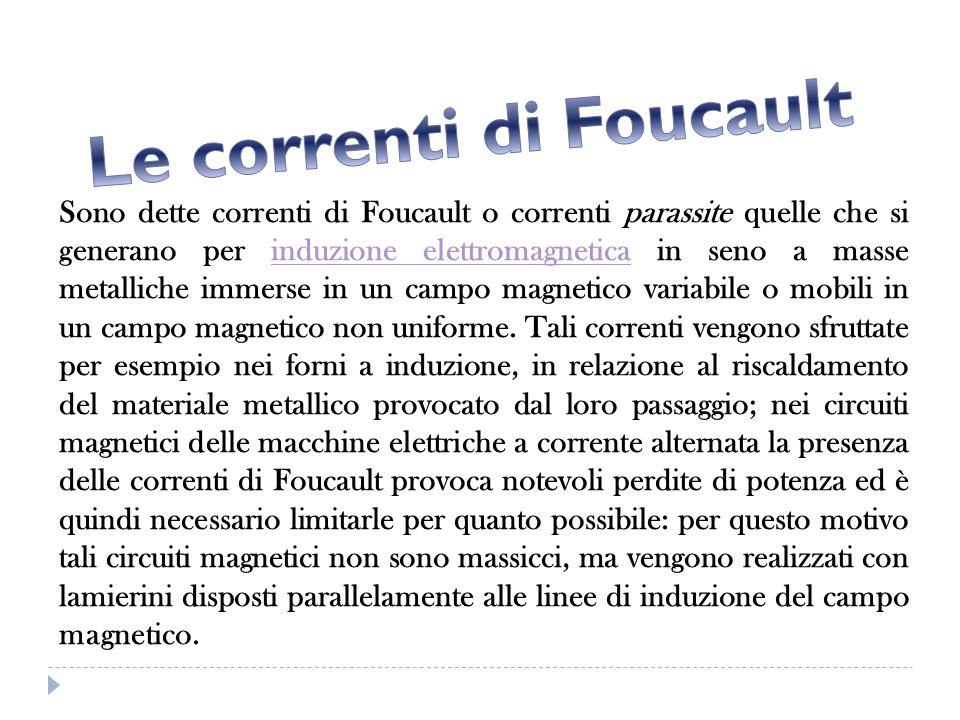 Le correnti di Foucault