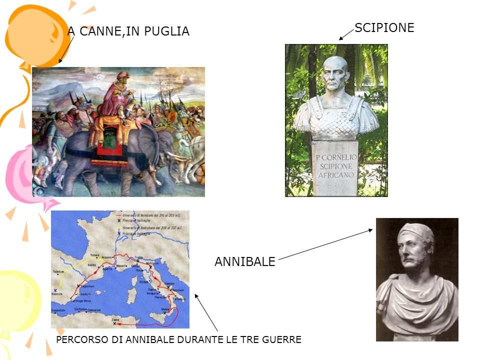 SCIPIONE A CANNE,IN PUGLIA ANNIBALE