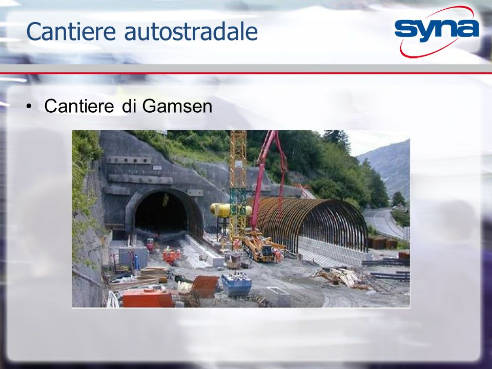 Cantiere autostradale