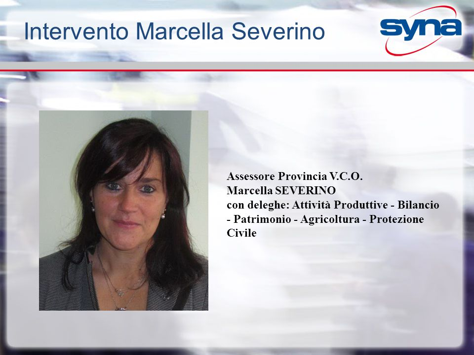 Intervento Marcella Severino
