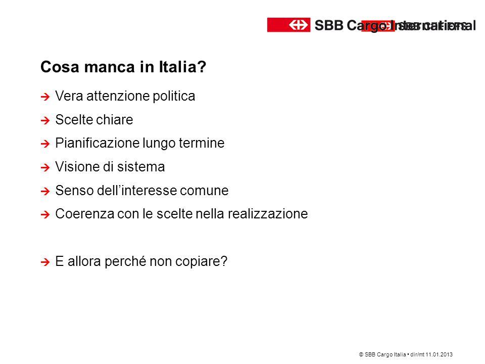 Cosa manca in Italia Vera attenzione politica Scelte chiare