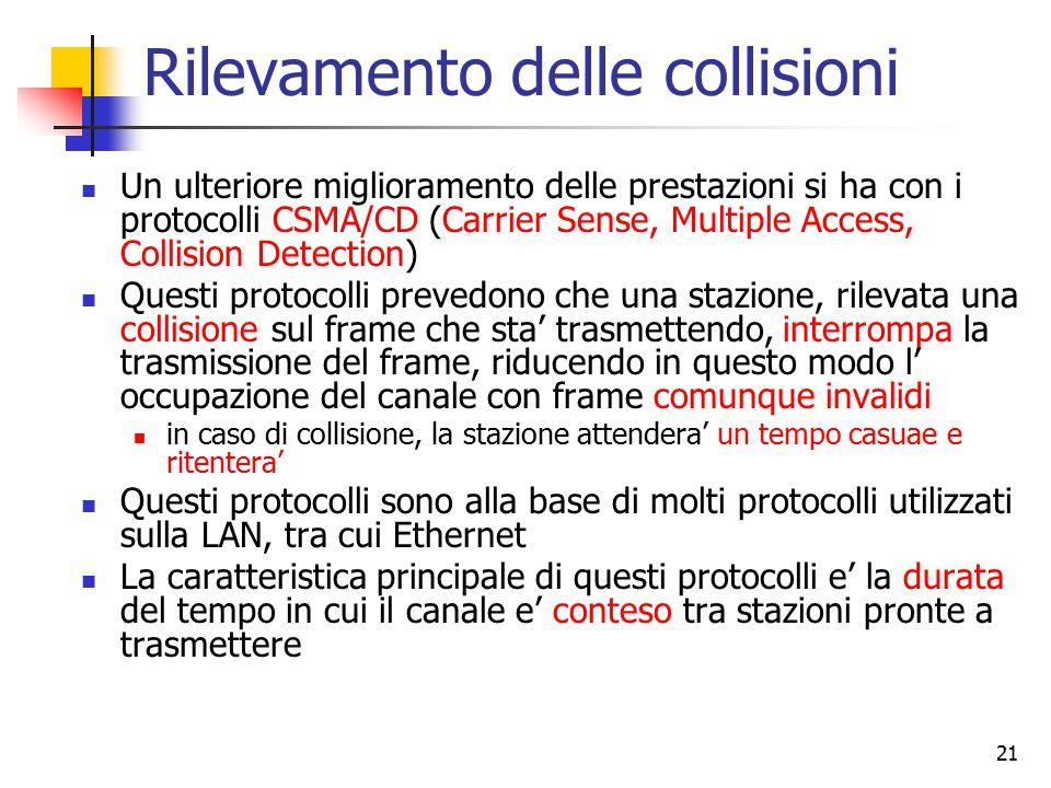 Rilevamento delle collisioni