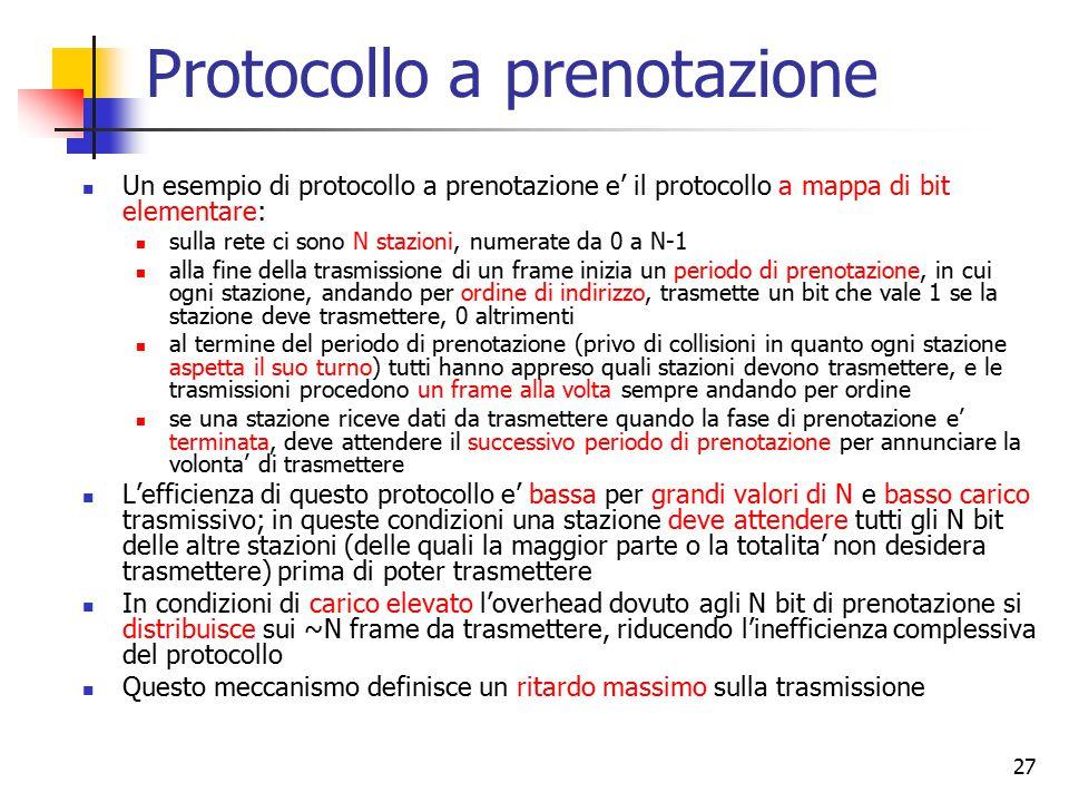 Protocollo a prenotazione