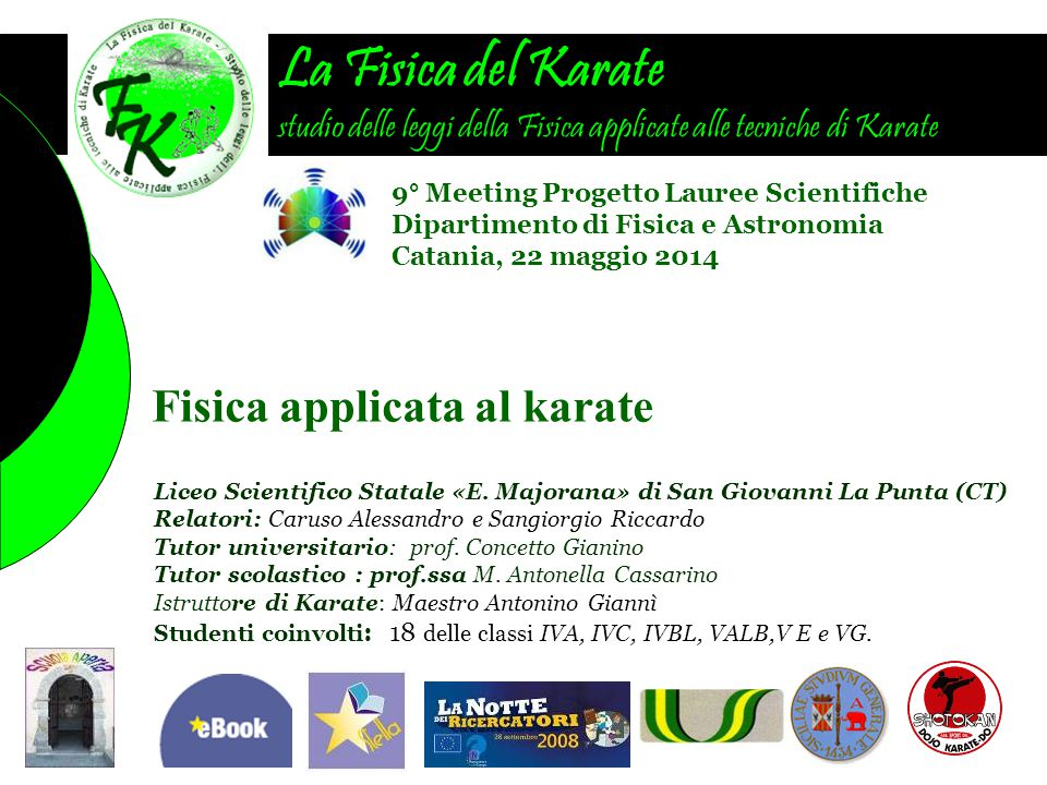 Fisica applicata al karate