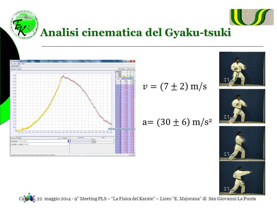 Analisi cinematica del Gyaku-tsuki