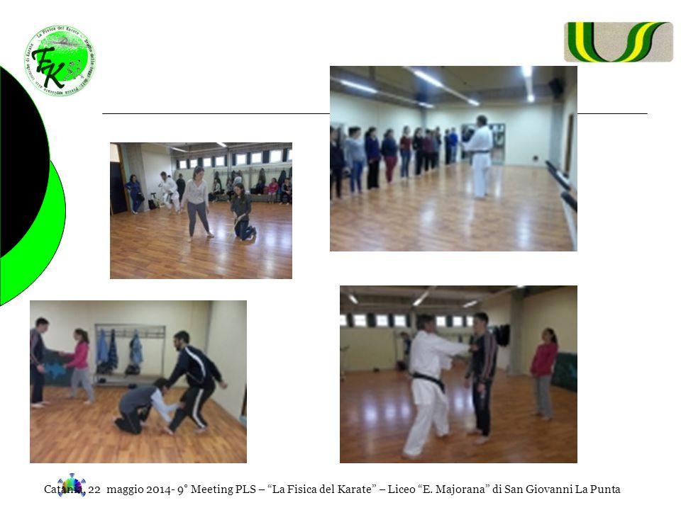 Catania, 22 maggio 2014- 9° Meeting PLS – La Fisica del Karate – Liceo E.