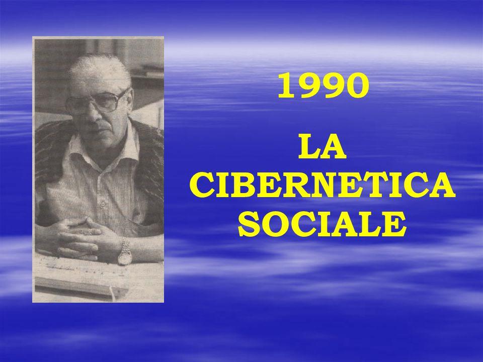 LA CIBERNETICA SOCIALE