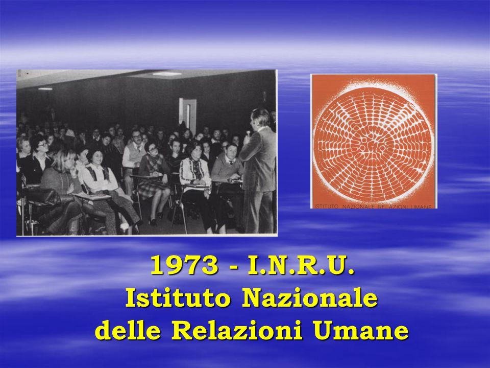 1973 - I.N.R.U. Istituto Nazionale delle Relazioni Umane
