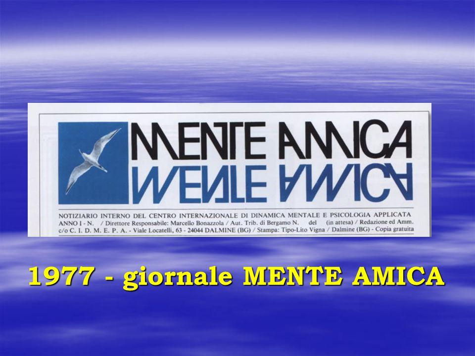 1977 - giornale MENTE AMICA