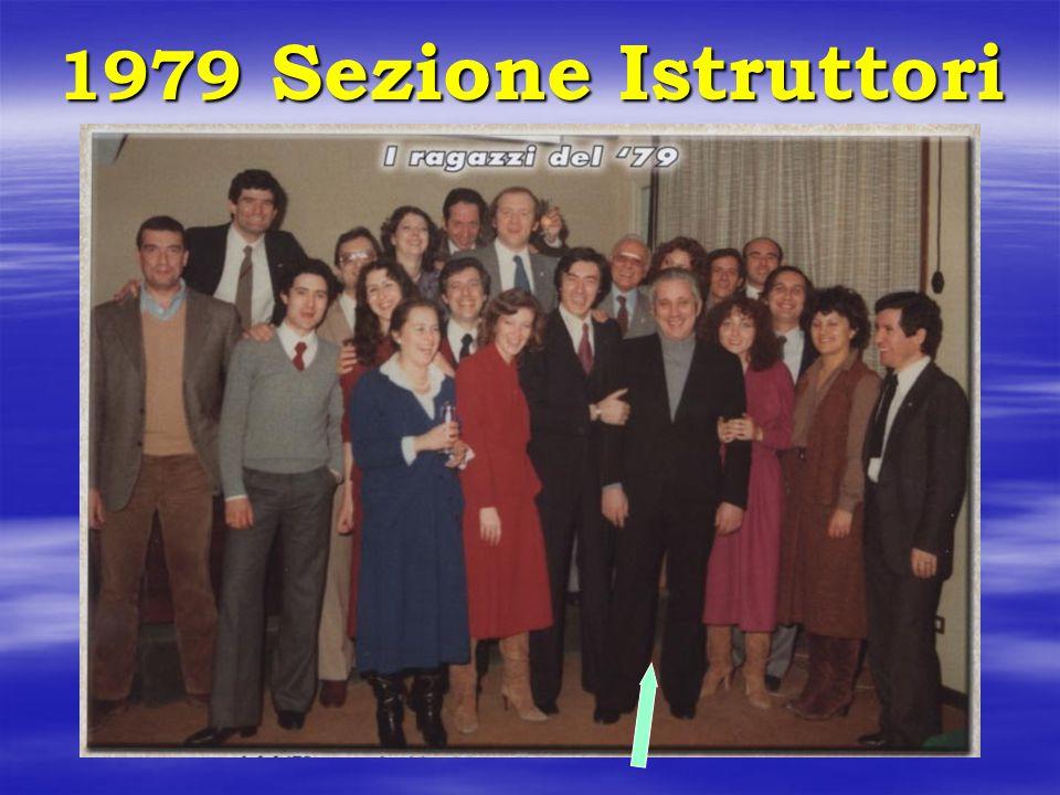 1979 Sezione Istruttori