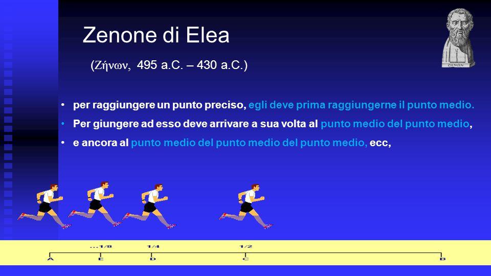 Zenone di Elea (Ζήνων, 495 a.C. – 430 a.C.)