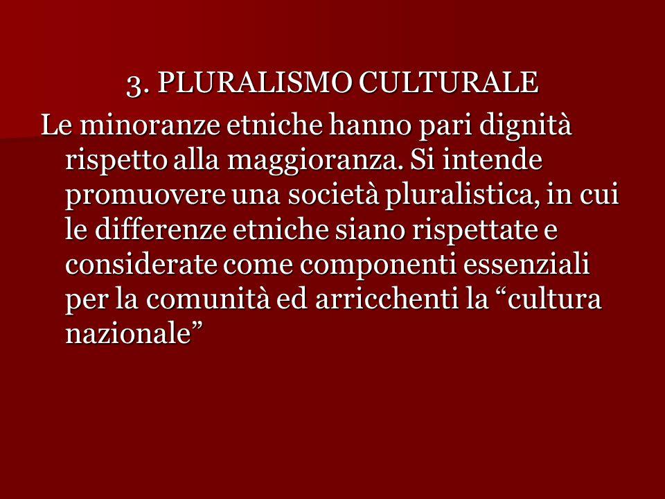 3. PLURALISMO CULTURALE
