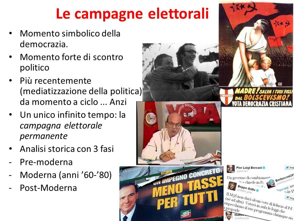 Le campagne elettorali