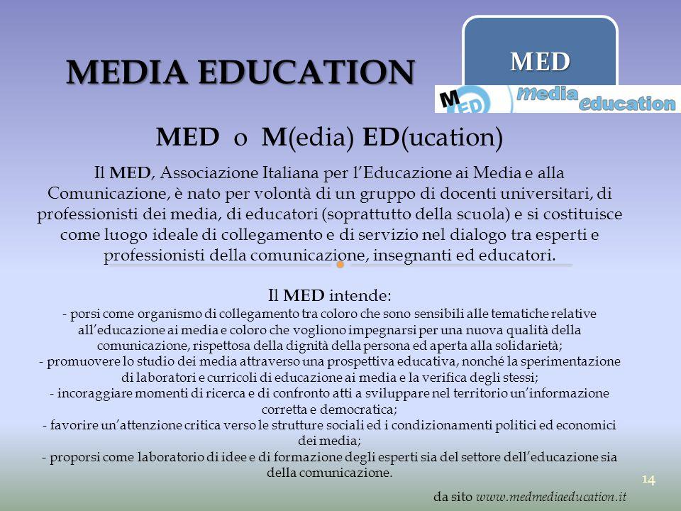 MED o M(edia) ED(ucation)