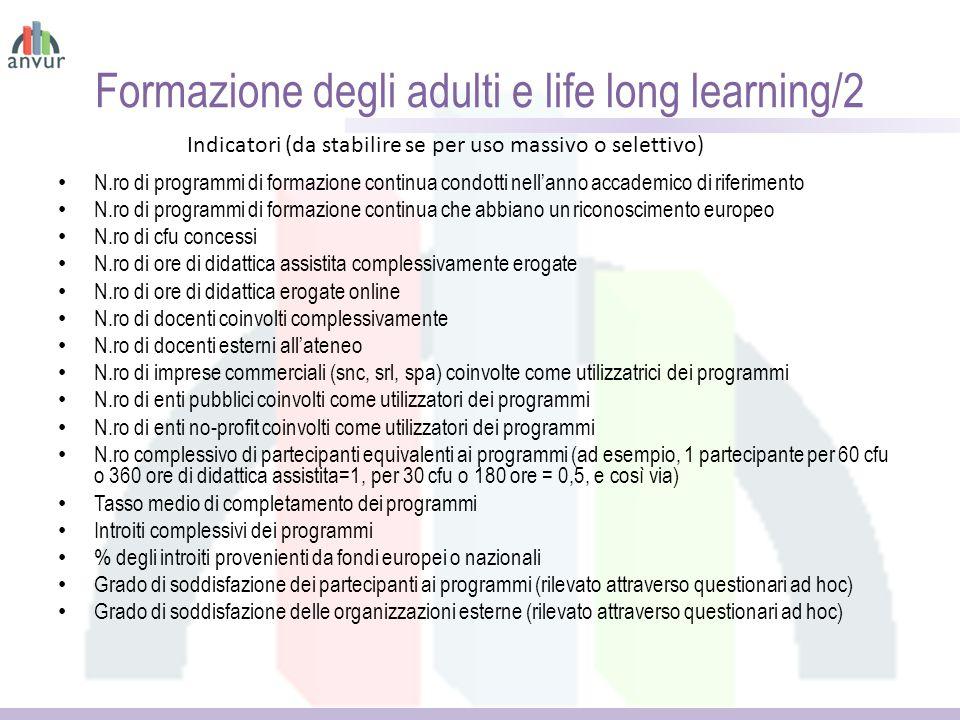 Formazione degli adulti e life long learning/2
