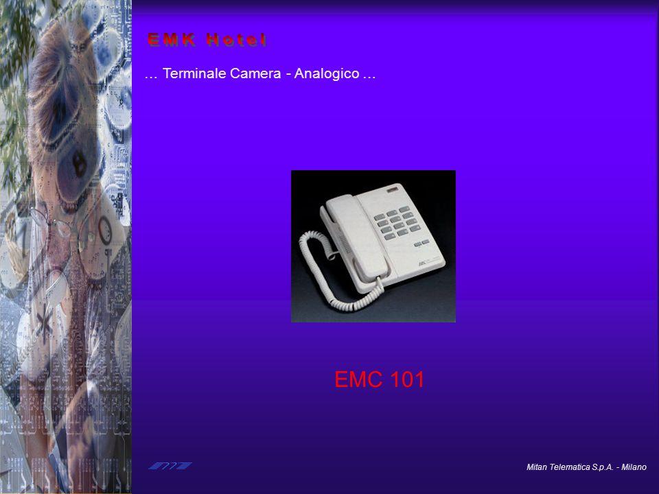 EMK Hotel … Terminale Camera - Analogico … EMC 101