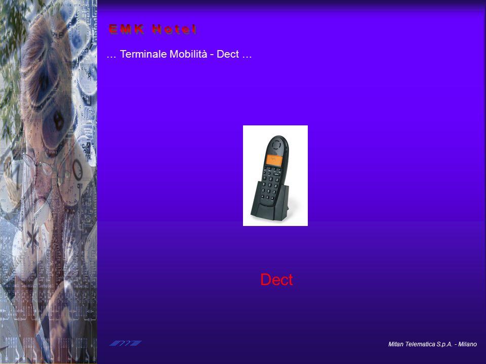 EMK Hotel … Terminale Mobilità - Dect … Dect