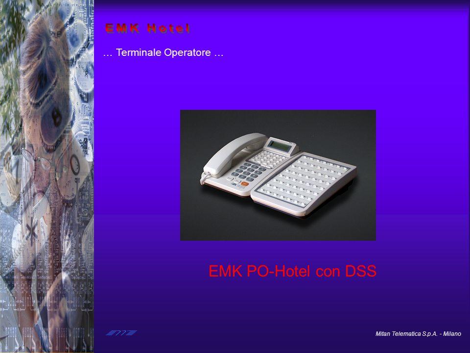 EMK Hotel … Terminale Operatore … EMK PO-Hotel con DSS