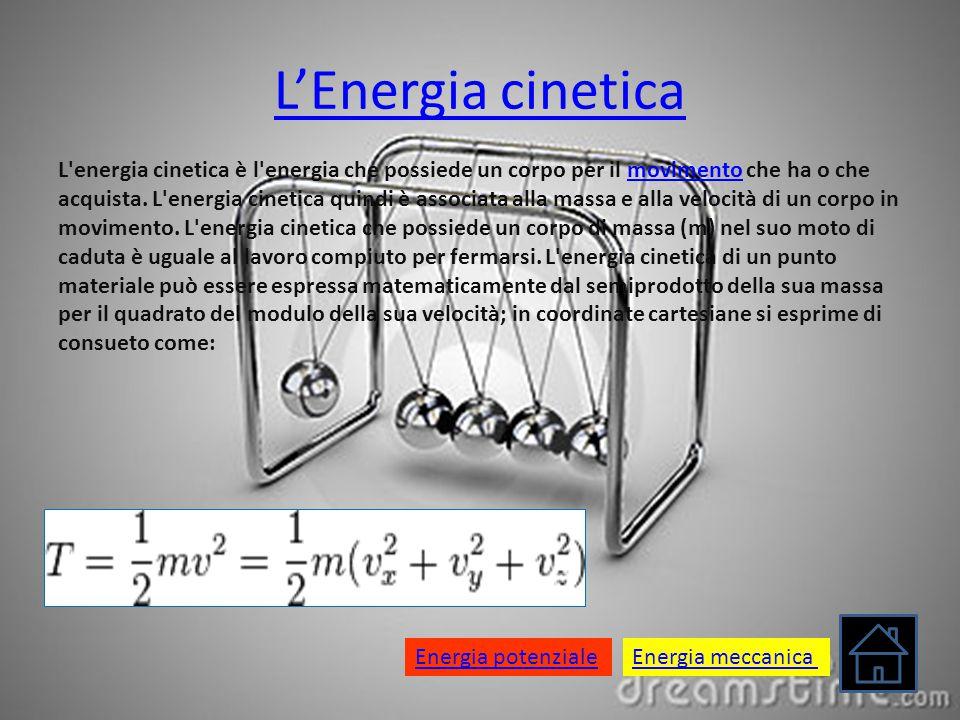 L'Energia cinetica