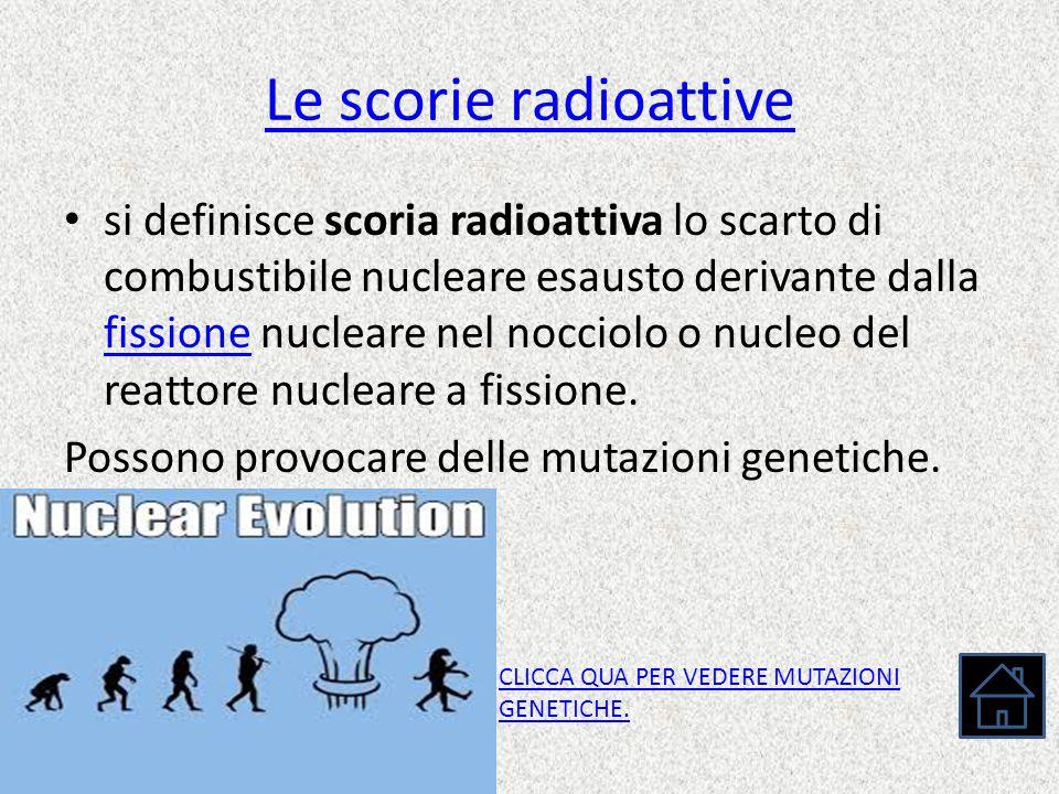 Le scorie radioattive