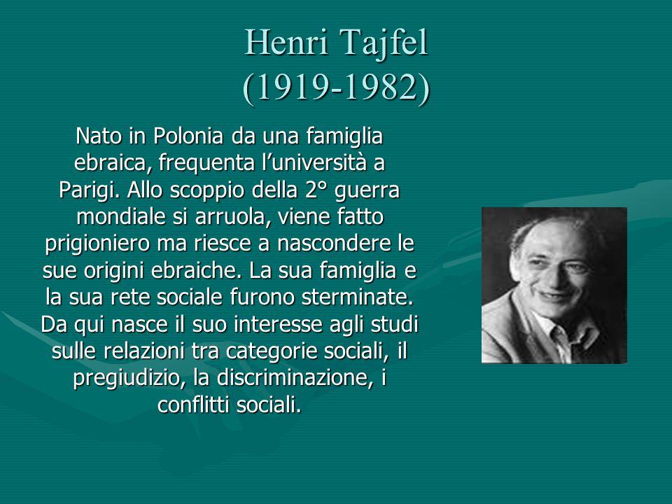 Henri Tajfel (1919-1982)