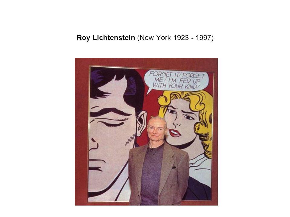 Roy Lichtenstein (New York 1923 - 1997)