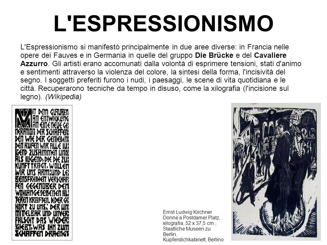 L ESPRESSIONISMO