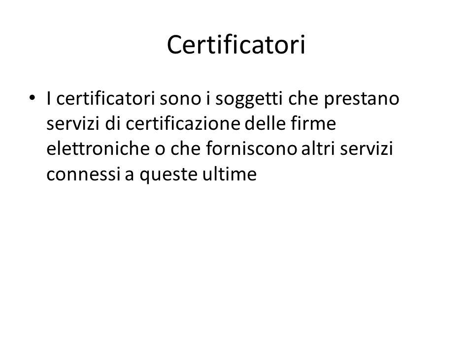 Certificatori