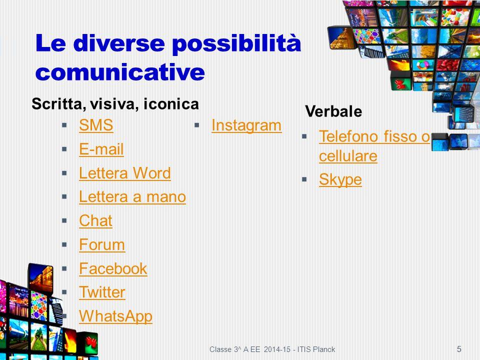 Le diverse possibilità comunicative