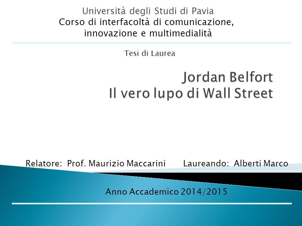 Jordan Belfort Il vero lupo di Wall Street