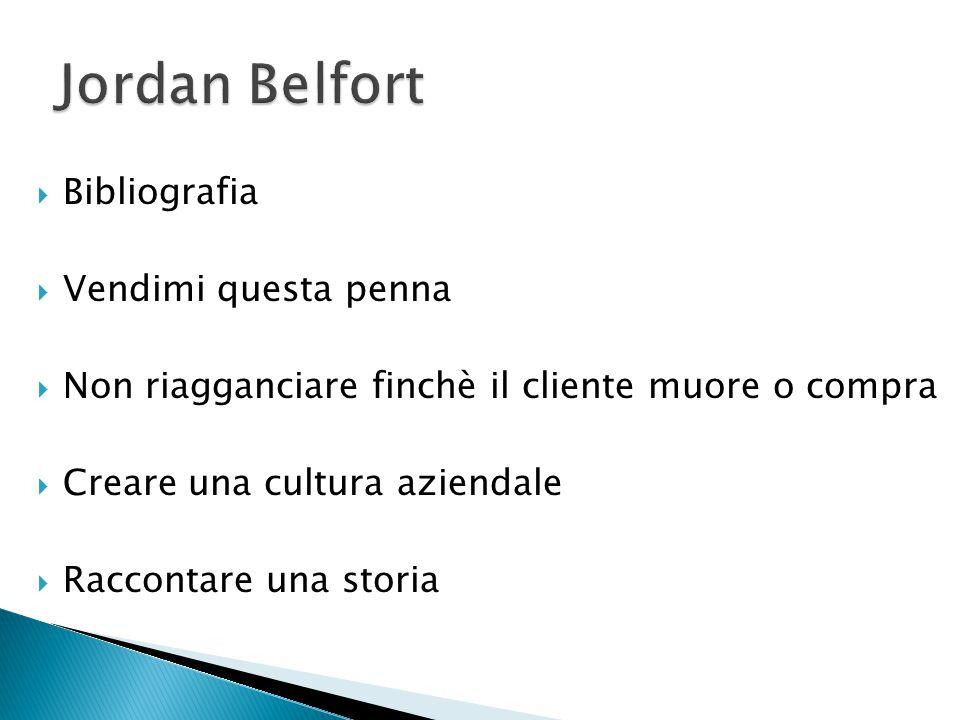 Jordan Belfort Bibliografia Vendimi questa penna