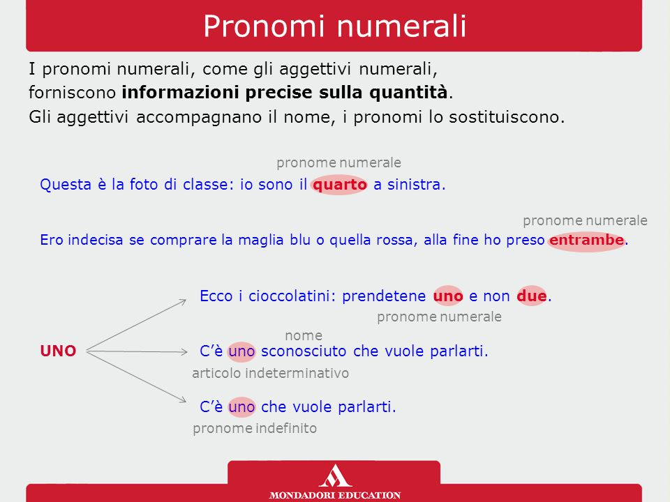 Pronomi numerali