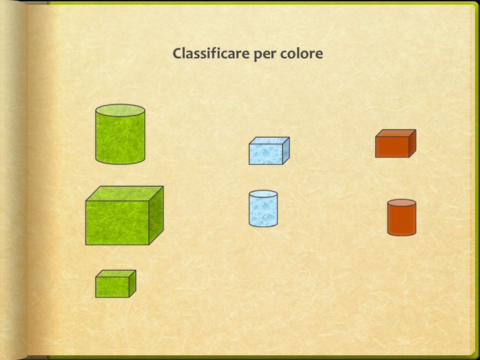 Classificare per colore