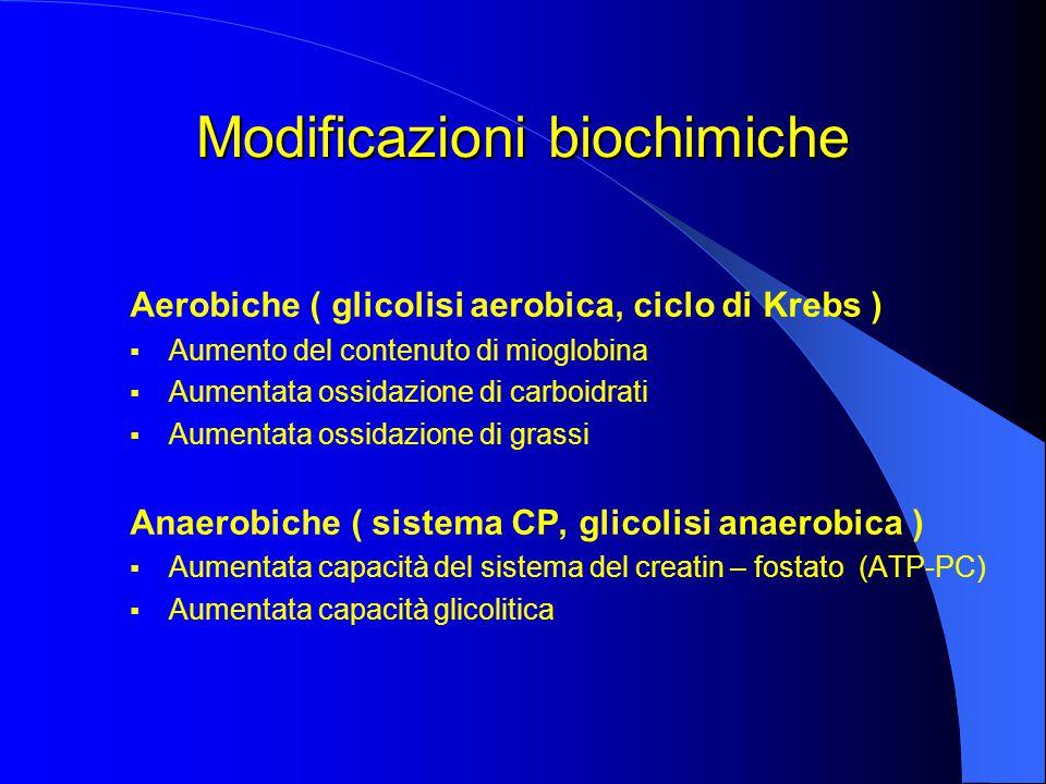 Modificazioni biochimiche