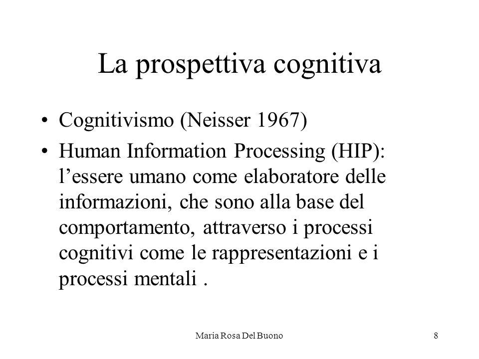 La prospettiva cognitiva