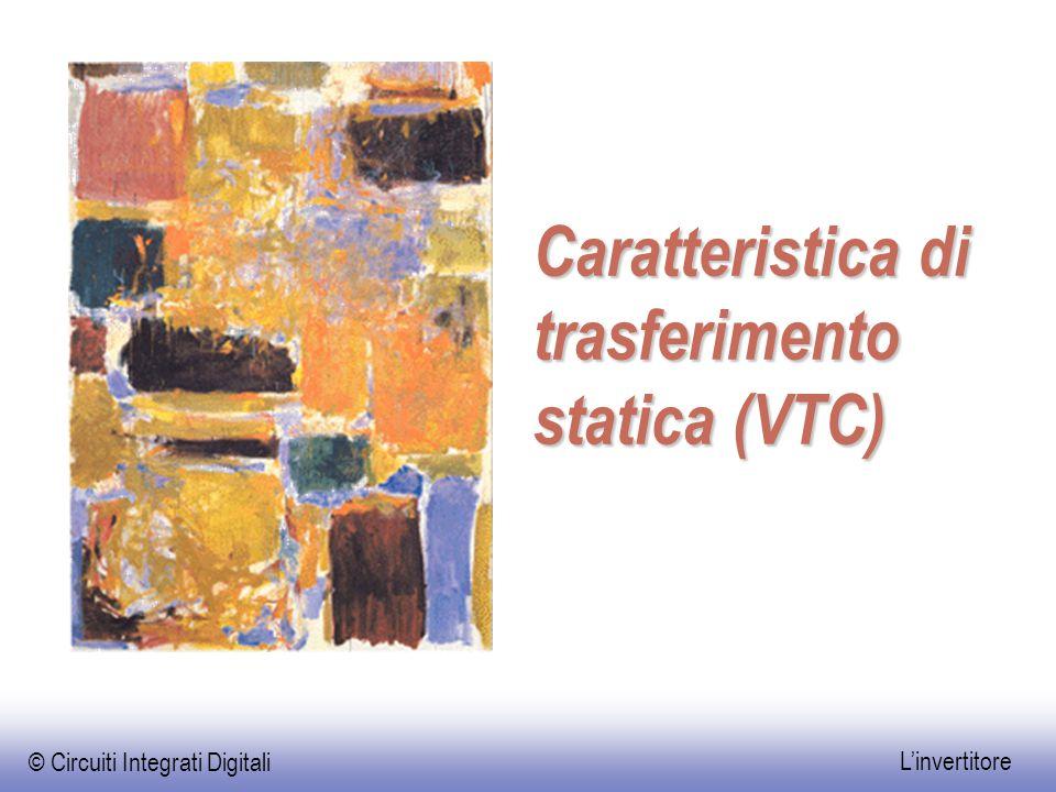Caratteristica di trasferimento statica (VTC)