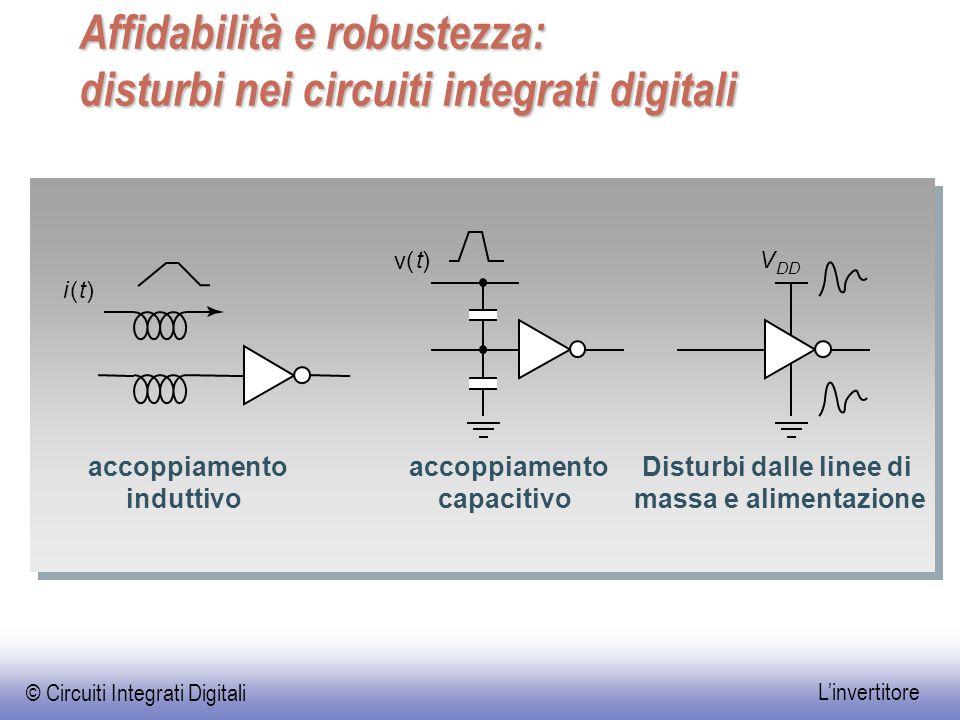 Affidabilità e robustezza: disturbi nei circuiti integrati digitali