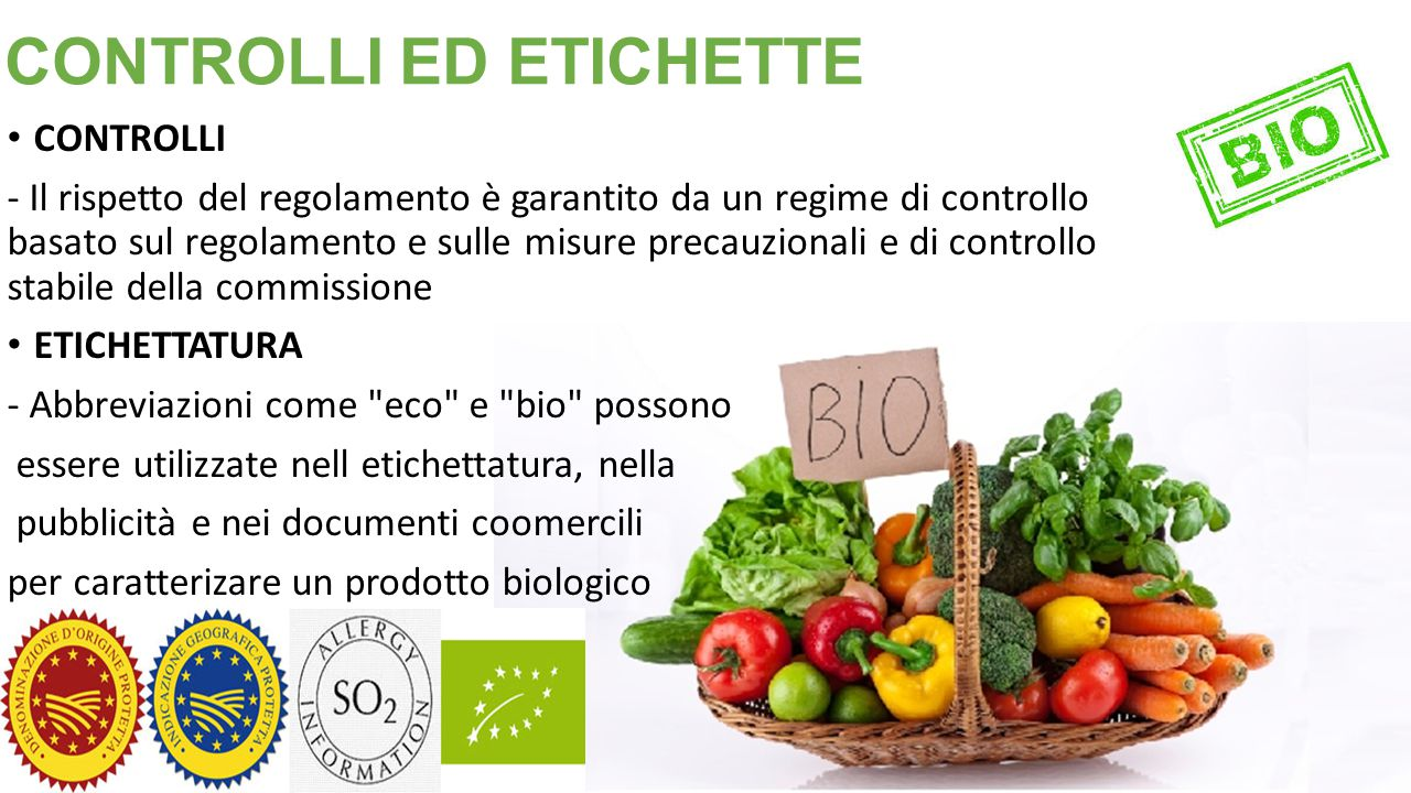 CONTROLLI ED ETICHETTE